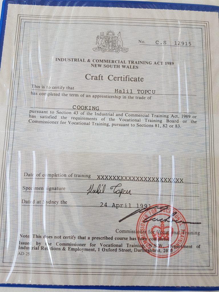 Koldingnordservice - Madlavnings certifikat
